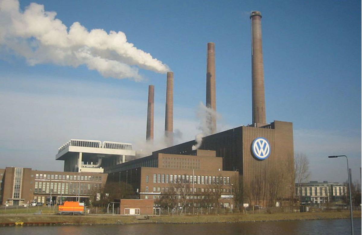 Завод Volkswagen в Вольсбурге