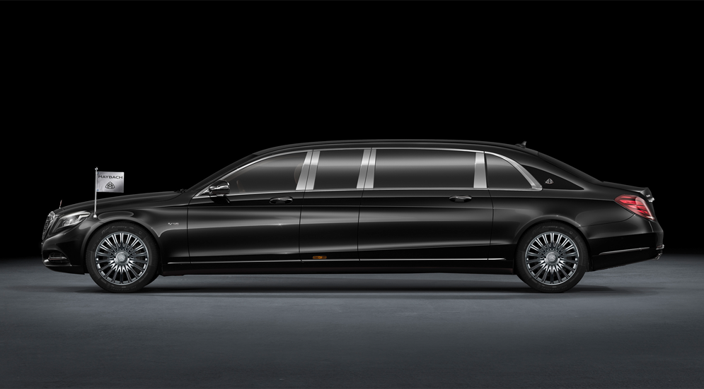 Mercedes-Maybach Pullman: как выглядит царство роскоши для самых богатых