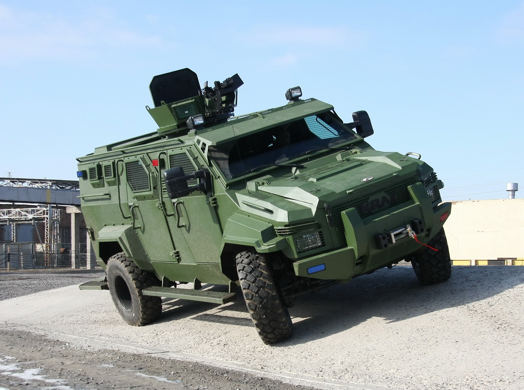 ВКиеве покажут модернизированный беспилотный автомобиль для ВСУ