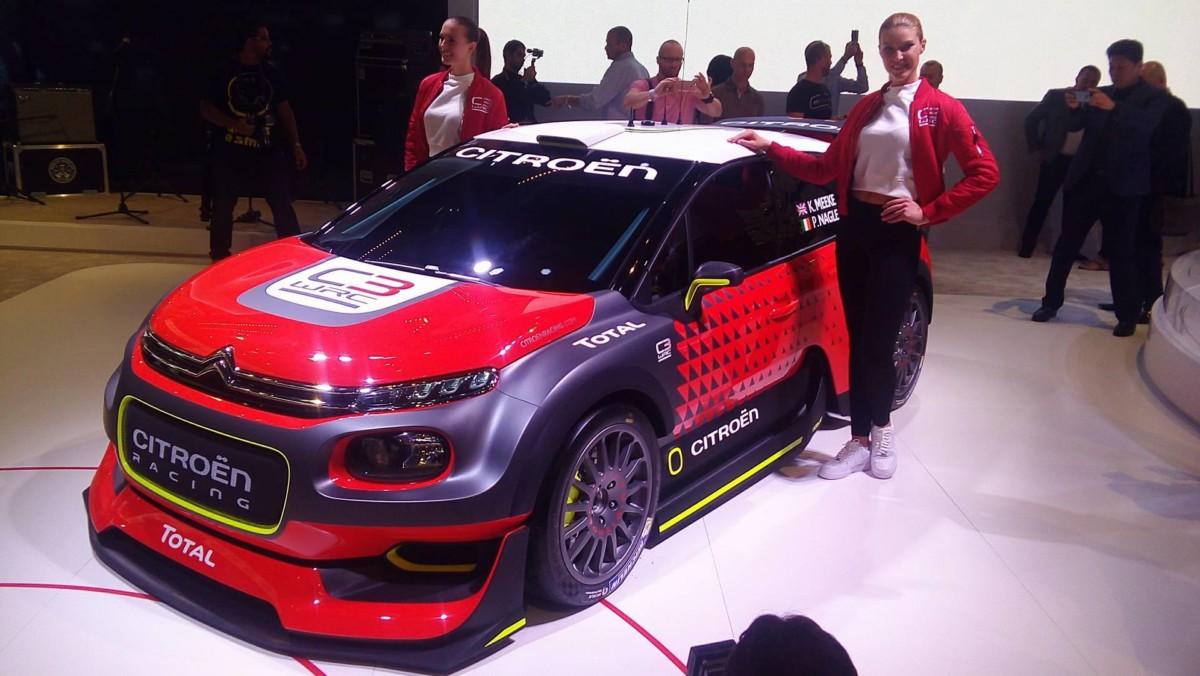 Citroen C3 WRC. Парижский автосалон 2016
