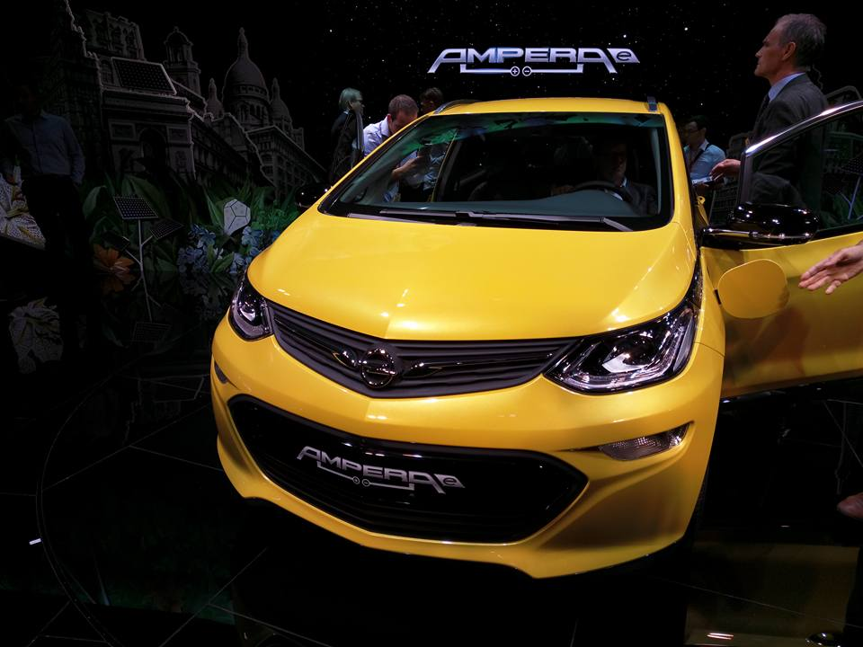 Электромобиль Opel Ampera-e – европейский брат Chevrolet Bolt
