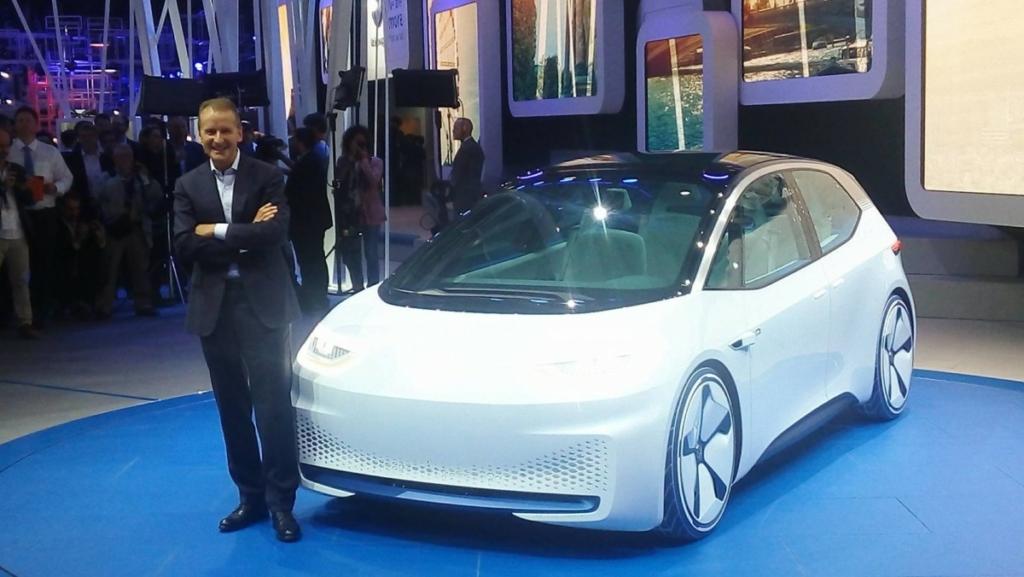 Новый Volkswagen I.D. станет Гольфом в мире электромобилей. Первые фото