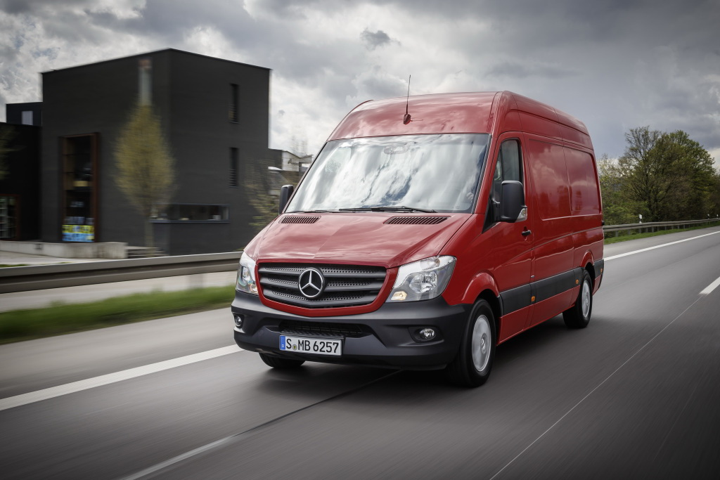Фургон Mercedes-Benz Sprinter
