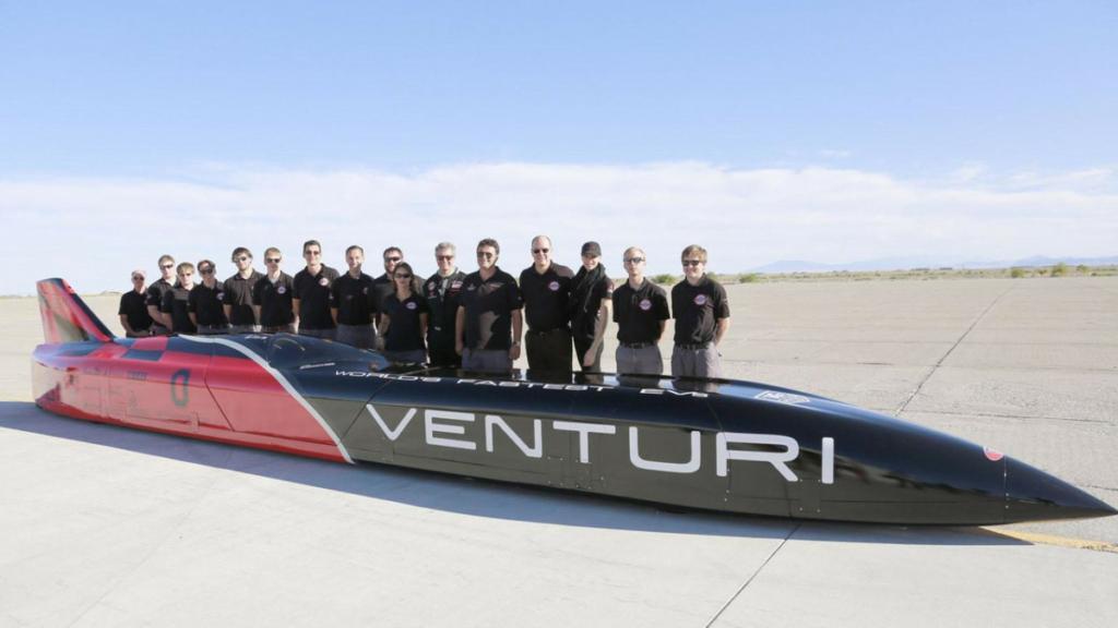 Самый быстрый электромобиль в мире – Venturi VBB-3