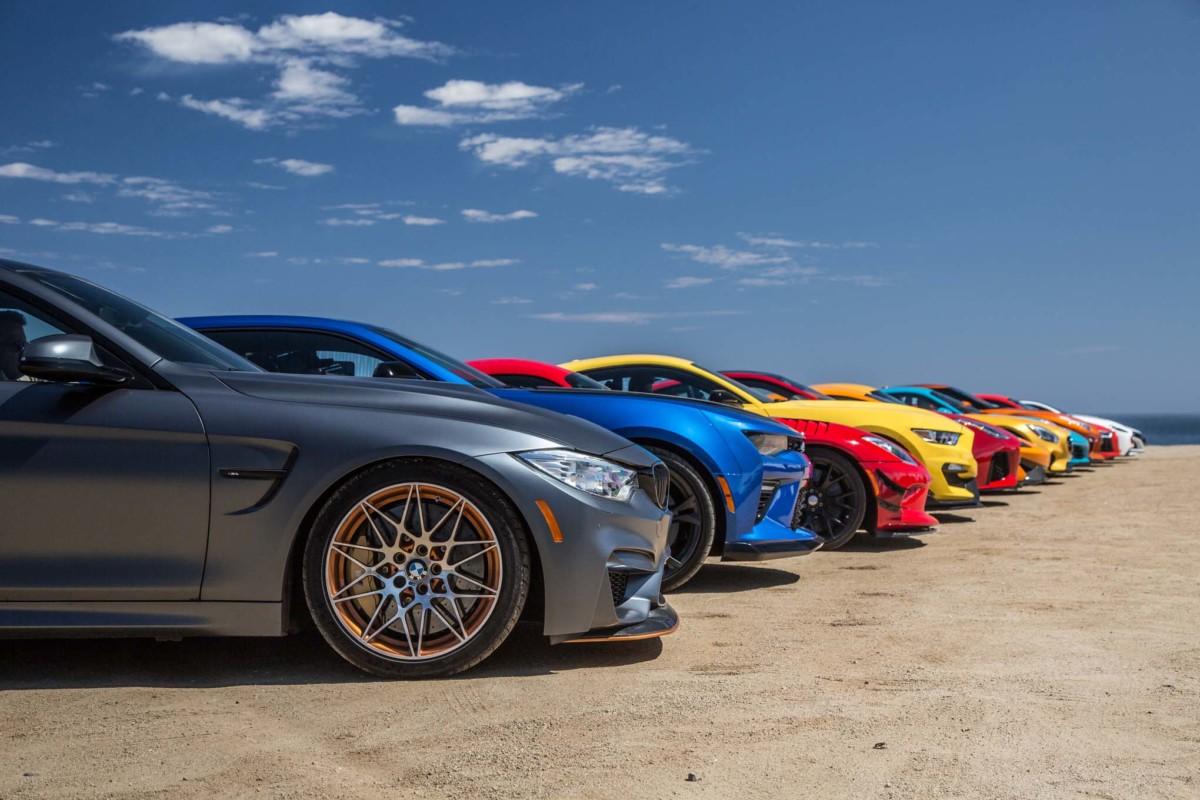 Битва века: драг-рейсинг 13 новых спорткаров
