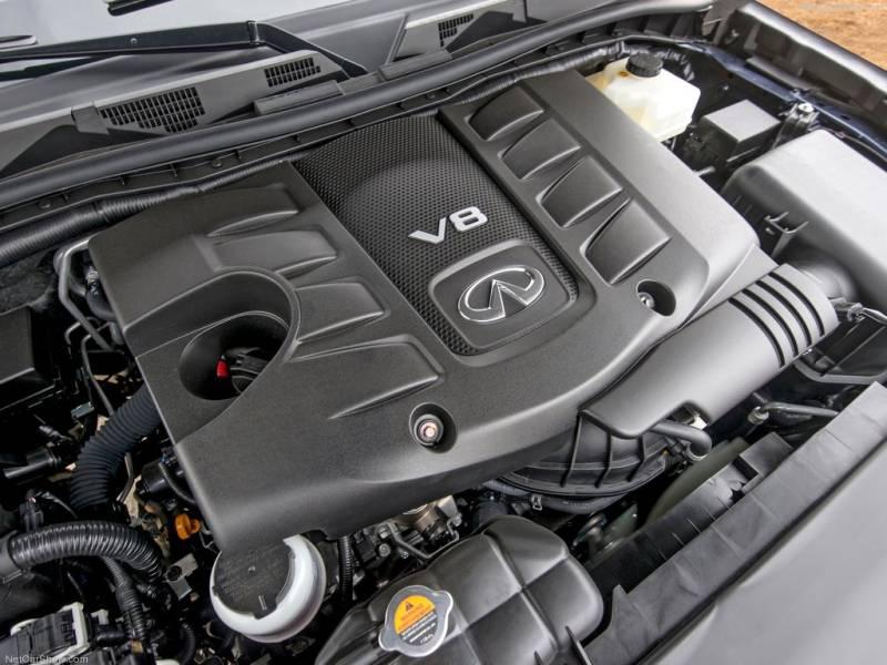 Infiniti QX80 - 5,6-литровый V8