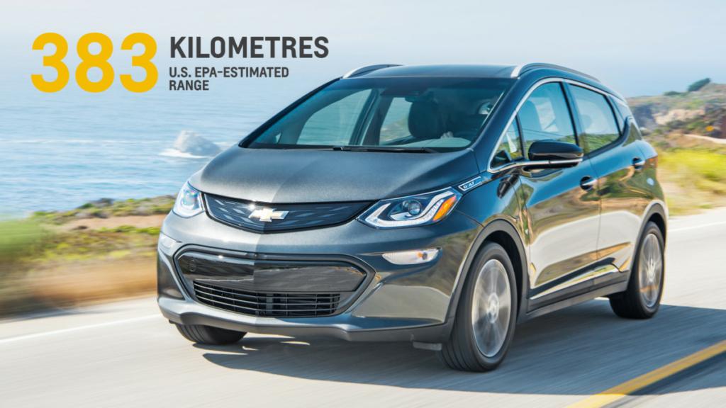 Электромобиль Chevrolet Bolt: анти-Tesla за $30 тыс.
