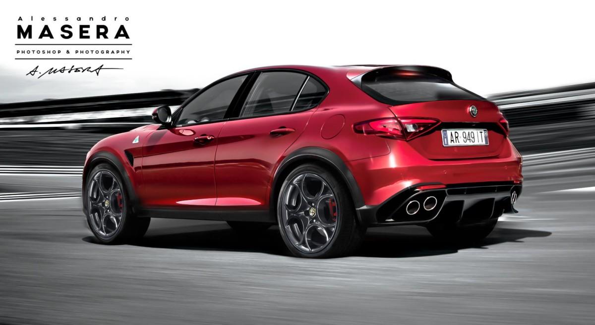 Alfa Romeo Stelvio - новый кроссовер Альфа Ромео представят в ноябре