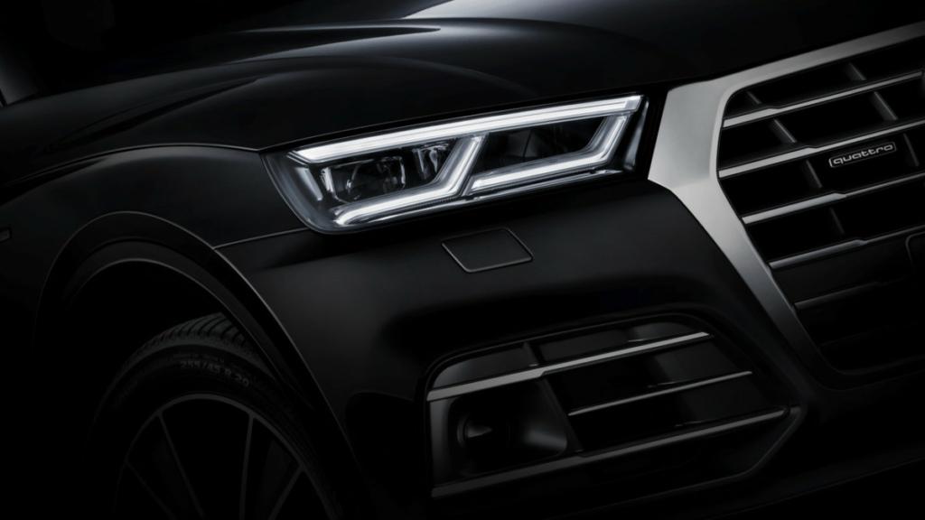 Кроссовер Audi Q5 2017 впервые получит пневмоподвеску