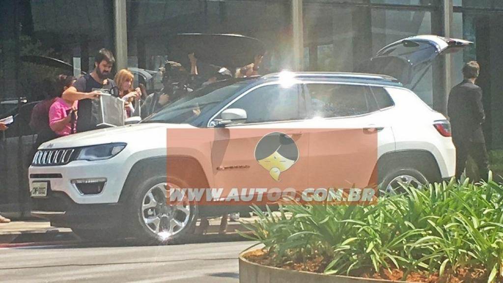Jeep Compass 2017 – первые фото кроссовера