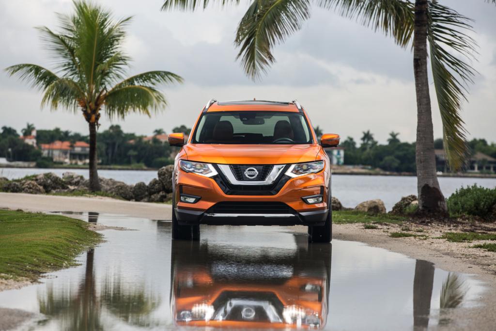 Кроссовер Nissan X-Trail 2017 – фото и подробности обновленной модели