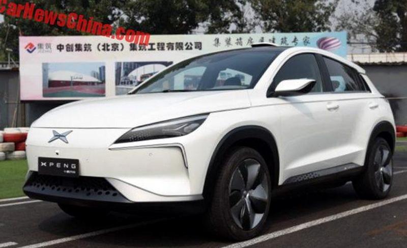 XPeng Beta: китайский электрокроссовер с большими амбициями