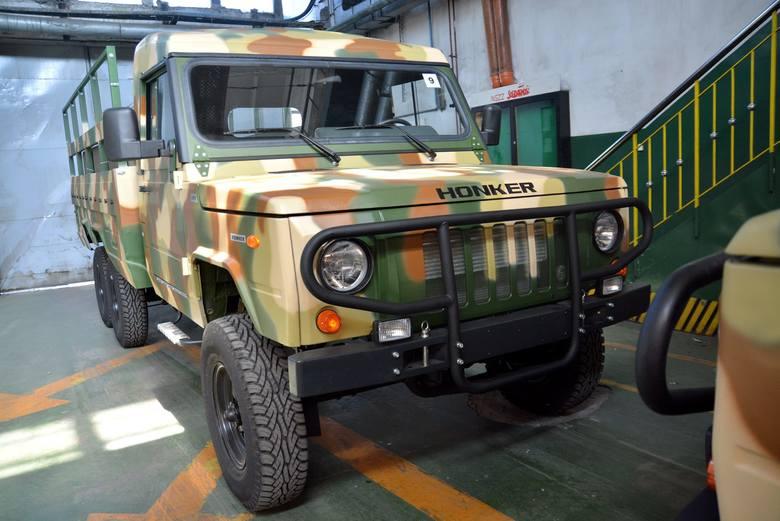 Польские внедорожники Honker могут заинтересовать украинских военных