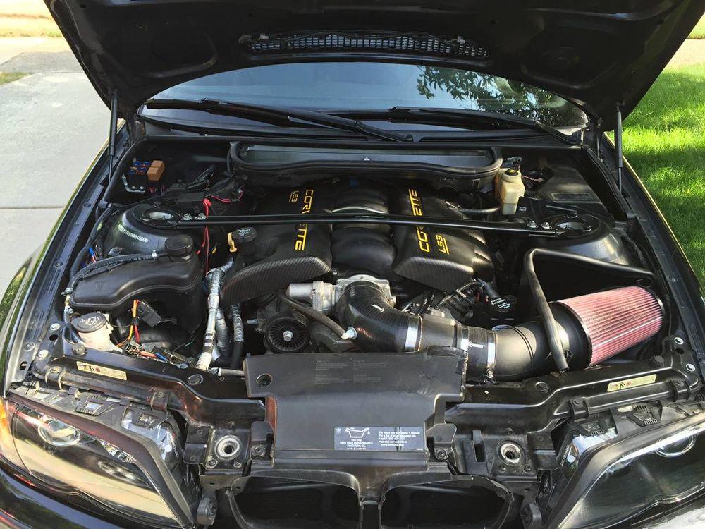 BMW E46 330i с 6,2-литровым V8 от Corvette