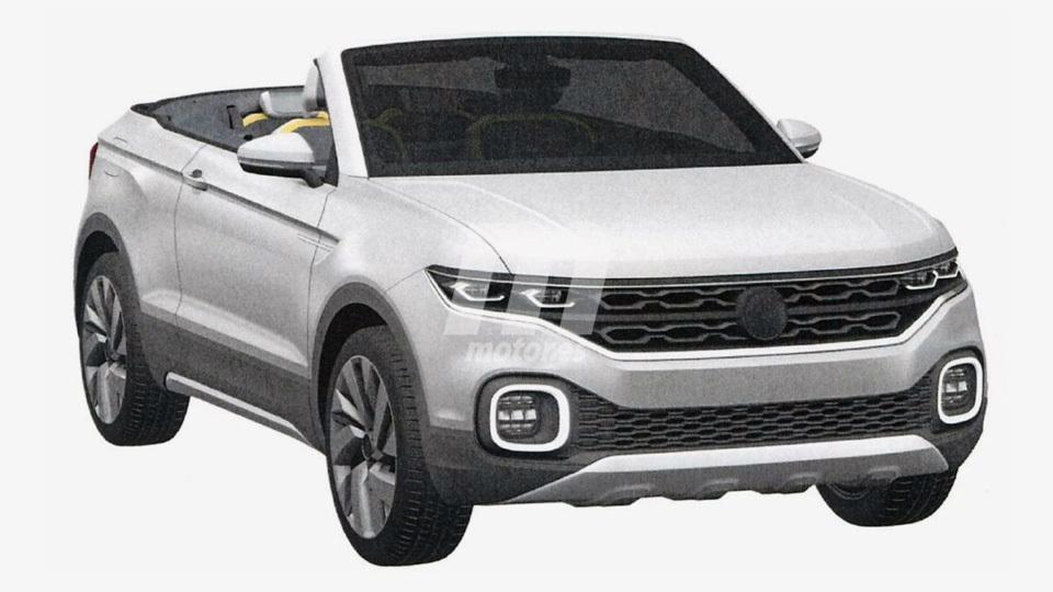 Кроссовер-кабриолет Volkswagen T-Cross Breeze появится в 2018 году