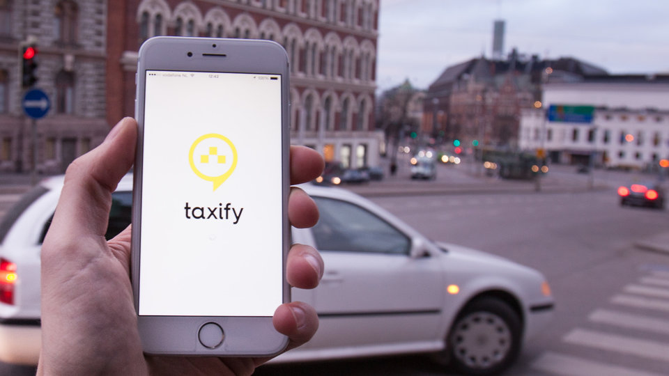 сервис такси Taxify в Украине