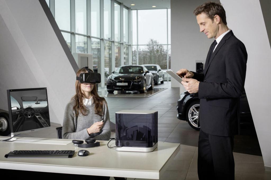 Очки виртуальной реальности станут инструментом продаж Audi