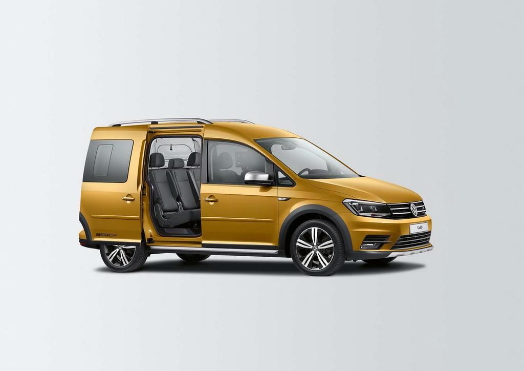 Volkswagen Caddy Beach с внедорожным пакетом Alltrack