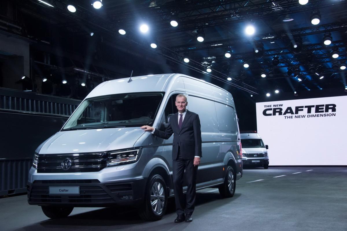 Компания VW построила электрический фургон e-Crafter