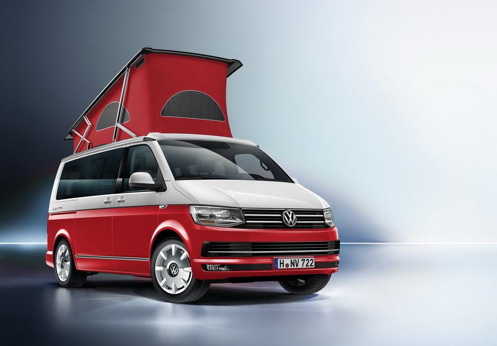 Volkswagen California в версии Oсean «Red»