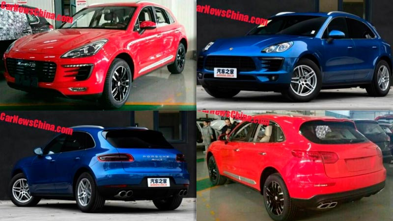Китайская копия Porsche Macan за $14 тысяч. Официальные фото Zotye SR8