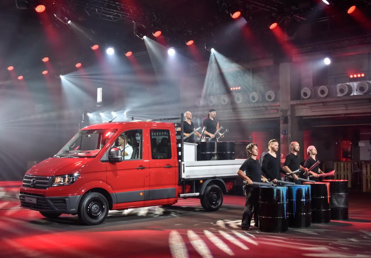 Мировая премьера Volkswagen Crafter прошла во Франкфурте (+ВИДЕО)