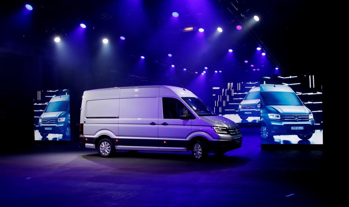 Мировая премьера Volkswagen Crafter прошла во Франкфурте