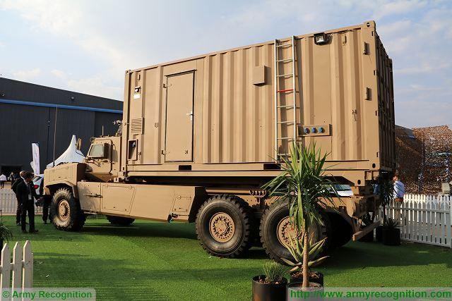бронированный гигант Africa Truck