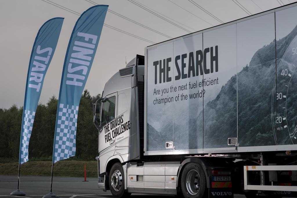 Volvo The Drivers' Fuel Challenge 2016
