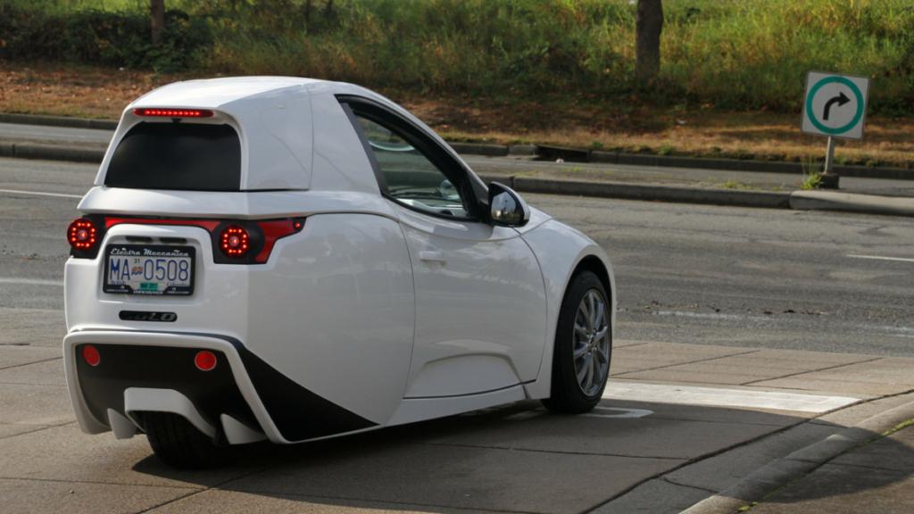 Electra Meccanica Solo – стильный электромобиль для эгоистов