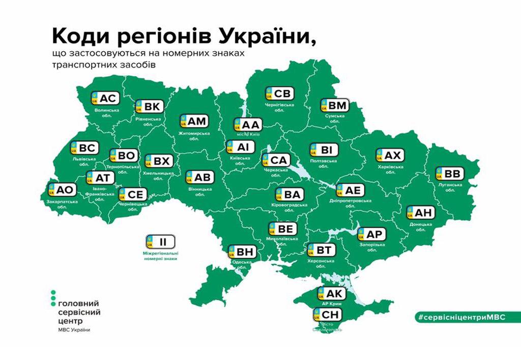 инфографика автономеровУкраины