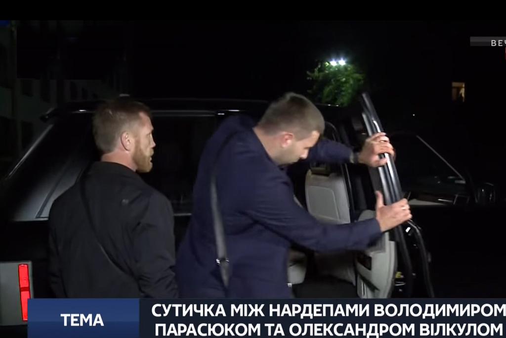 драка Владимира Парасюка