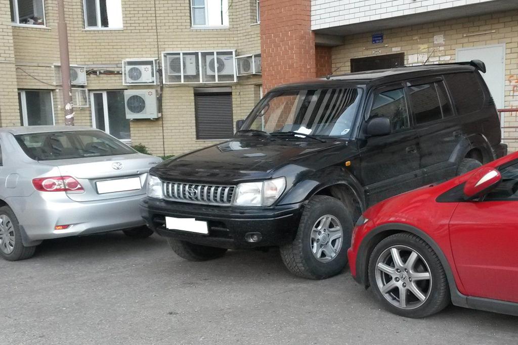 нарушении правил парковки