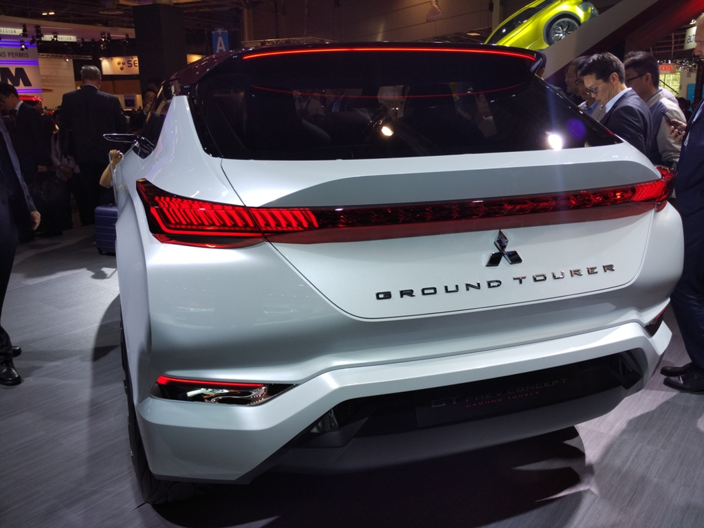 Mitsubishi GT-PHEV Concept получила название ground tourer