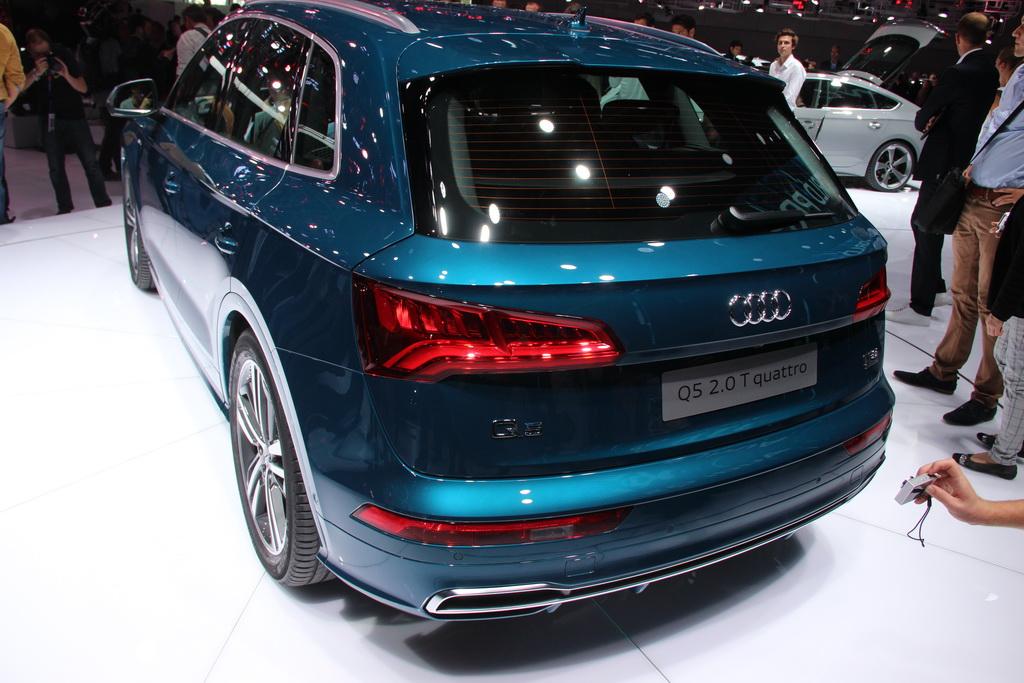 Новый Audi Q5 2017. Фото, цены и характеристики кроссовера