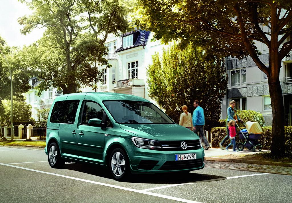 Volkswagen Caddy в новом исполнении Edition TGI
