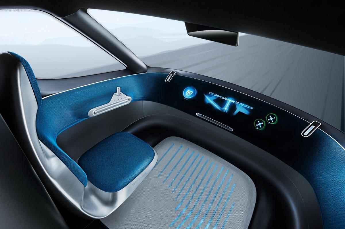 Mercedes-Benz Vision Van. Развозной фургон будущего дебютировал в Париже