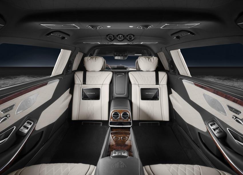 Mercedes-Maybach S600 Pullman Guard: люксовый танк для олигархов