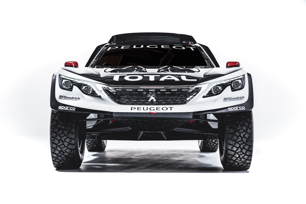 Новый Peugeot 3008 DKR