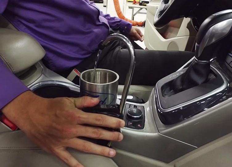 on-the-go-h2o - система выработки питьевой воды Ford