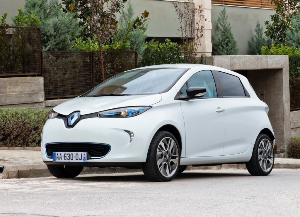 Электромобиль Renault Zoe 2017: запас хода увеличен до 400 км!
