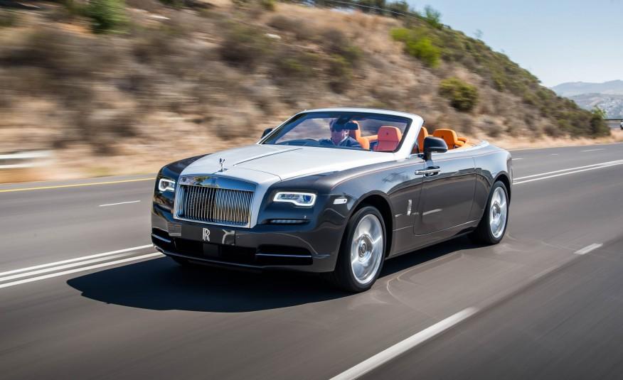 Самые дорогие машины мира - Rolls-Royce Dawn