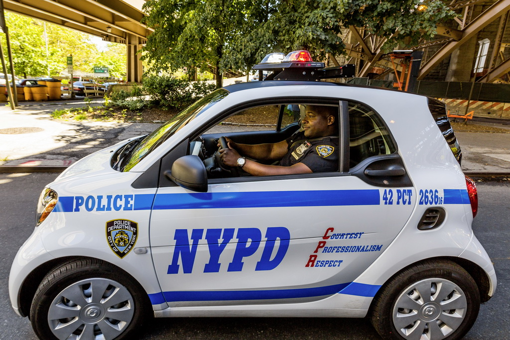 Smart ForTwo Police