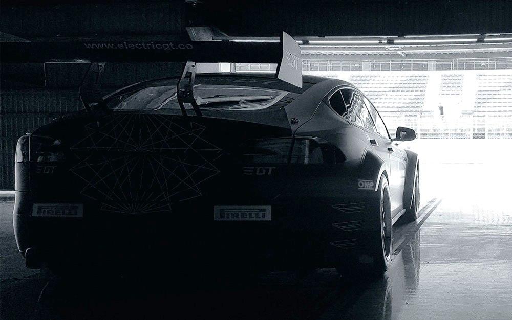 Tesla для кузовных гонок электромобилей Electric GT