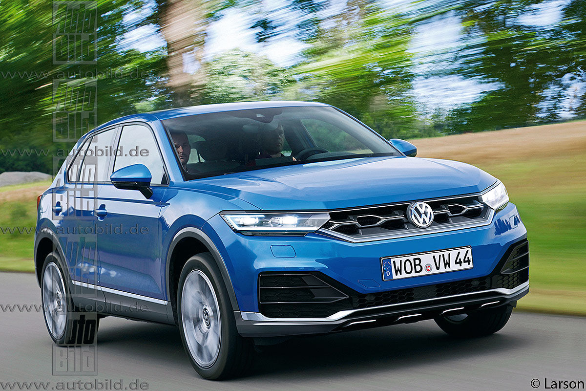 Volkswagen Tiguan CC появится в 2017 году