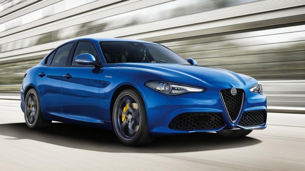Заряженный седан Alfa Romeo Giulia Veloce бросит вызов Audi S4