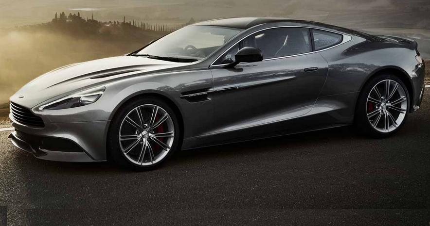Самые дорогие машины мира - Aston Martin Vanquish
