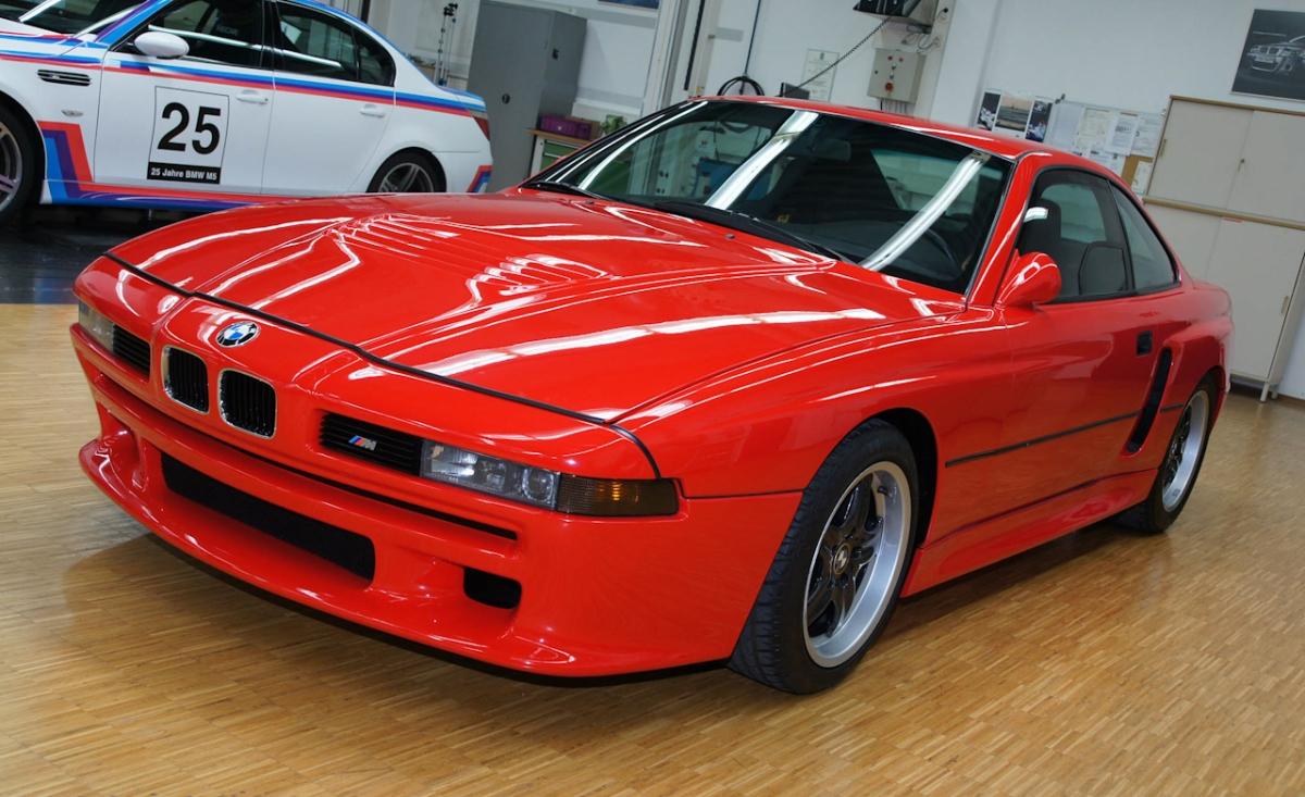 BMW готовит к выпуску возрожденное купе 8-й серии