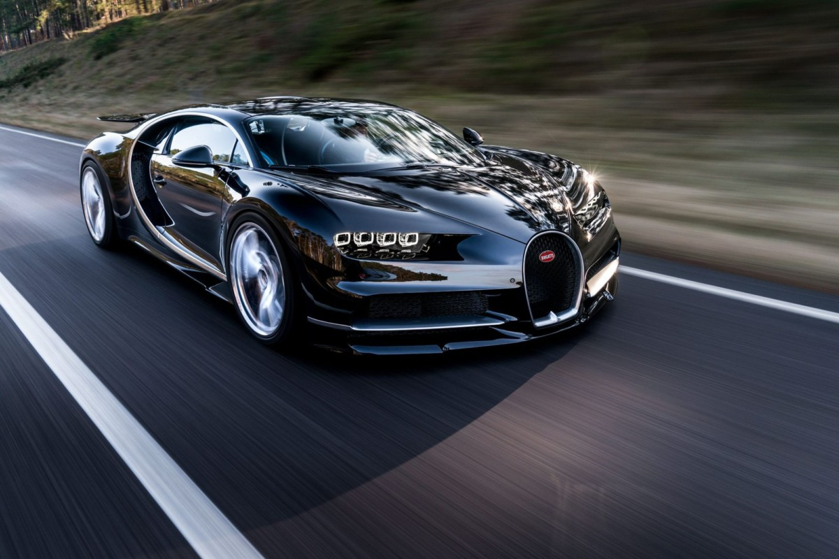 Bugatti Chiron разработал Александр Селипанов