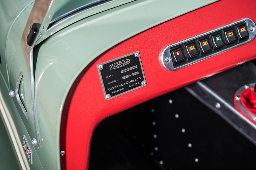 Caterham Seven Sprint 50-летней давности выпустят в 2017 году